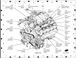 volvo locations where are the sensor locations on the 2004 thunderbird engines