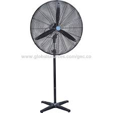 Pedestal Fan With Metal Blades China 26 Inch Industrial Pedestal Fan Aluminum Blade Powerful