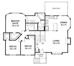 tri level floor plans plan 1243 2 bedroom tri level home