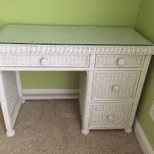 White Desk Glass Top Find More Wicker Desk With Glass Top Dresser With Glass Top 100