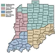 indiana map us district map southern district of indiana united states