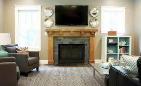 tv setup in living room home design