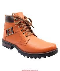 men u0027s faux leather footwers shoe island tan casual boot exclusive