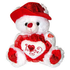 valentines day teddy bears musical i you teddy with hat 11