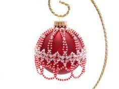 330 best beaded ornaments images on pinterest beaded christmas