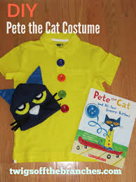 twigs the branches easy diy pete the cat costume for book