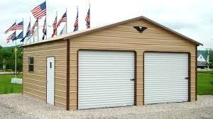 10x10 garage door carports garages storage sheds storage buildings