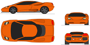 lamborghini front drawing lamborghini kanto coupe blueprints free outlines