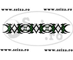 tribal bracelet tattoo the symbol of the gemini zodiac tattoos