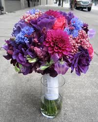 purple bouquets sammy s flowers wedding style purple bouquets