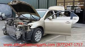 parting out 2007 toyota camry stock 3020bl tls auto recycling