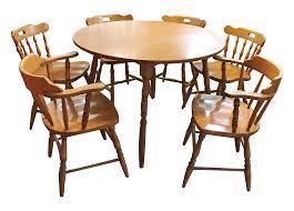 shermag dining room furniture chair portfolio shermag dining table and six chairs ebth chair set
