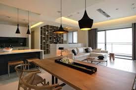 decoration salon cuisine idee deco salon cuisine ouverte sur et salle a manger newsindo co