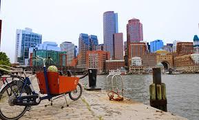 Boston Bike Map by Boston By Bike U2014 Bikabout