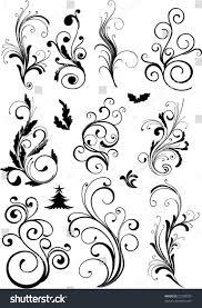 ornamental design elements vector stock vector 21238357