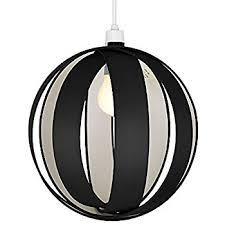 Black Ceiling Light Shade Modern Gloss Black New York Skyline Ceiling Pendant Shade
