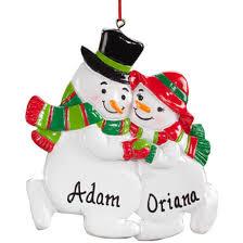 snowman family ornament snowman ornament kimball