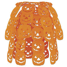 party central halloween halloween jack o lantern hanging party decorations halloween wikii