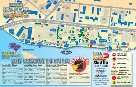 Blue Mountain Beach Florida Map by Destin Seafood Festival Destin Harbor Parking And Maps