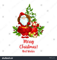 merry best wishes greeting icon stock vector 760659607