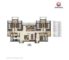 a floorplan floor plans dheeraj oneness borivali