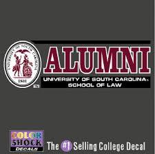 of south carolina alumni sticker of south carolina school of bookstore colorshock