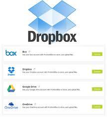 dropbox xero dropbox online storage integration proworkflow