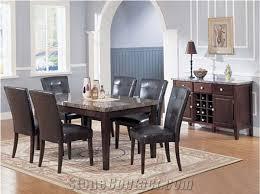 marble top dining table top emperador dark brown marble table