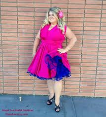 purple and orange wedding dress 1950s vintage inspired petticoats white orange pink blue