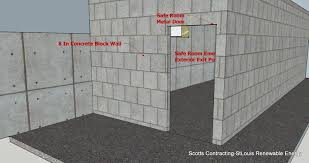 room concrete safe rooms home style tips fantastical in concrete