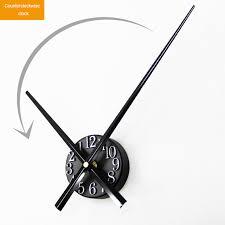 bureau inversé ouyun métal horloge murale temps réel numérique stéréo retour