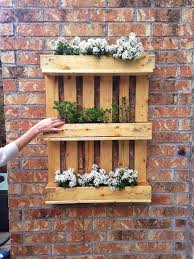 Pallets Garden Ideas Diy Shipping Pallet Garden Ideas Pallet Idea
