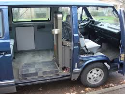 volkswagen eurovan camper interior wheelchair lifts in the vanagon vanagon hacks u0026 mods