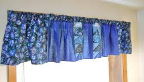 innovative blue valances window treatment 140 blue valances window