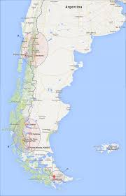 Patagonia South America Map Planning And Budgeting For Backpacking Through Patagonia Blog