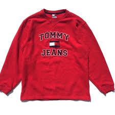vintage hilfiger sweaters vintage 1990s hilfiger sweater s fashion clothes