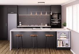 black kitchen cabinets nz kitchen bathroom category 2020 new zealand hardware journal