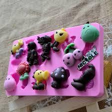 halloween cake molds aliexpress com buy nicole f1013 plants vs zombies resin clay