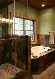 slate tile bathroom designs i like the light wall color w the slate tile remodel bathroom