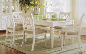 antique white kitchen table and chairs french country kitchen