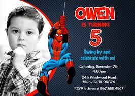 the 25 best spiderman birthday invitations ideas on pinterest