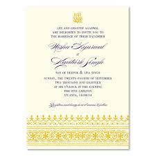 carlton wedding invitations indian ethnic wedding invitations on seeded paper dhanyabaad by