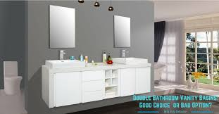 Double Bathroom Vanity by Double Bathroom Vanity Basins Good Choice Or Bad Option Bella