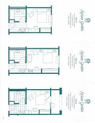 Studio Plan by Atrium Garden Studio Apartments