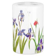 Hummingbird Bathroom Accessories by Floral Bath Gifts On Zazzle