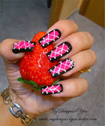 corset effect nail art how to paint braided nail art beauty on