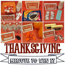 activity day ideas thanksgiving minute to win it kid friendly
