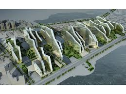 urban and architectural design concept for the core area of