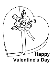 st valentine coloring sheet clip art library
