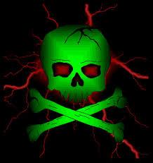 tag for pretty sugar skull toxic skull skulls gif